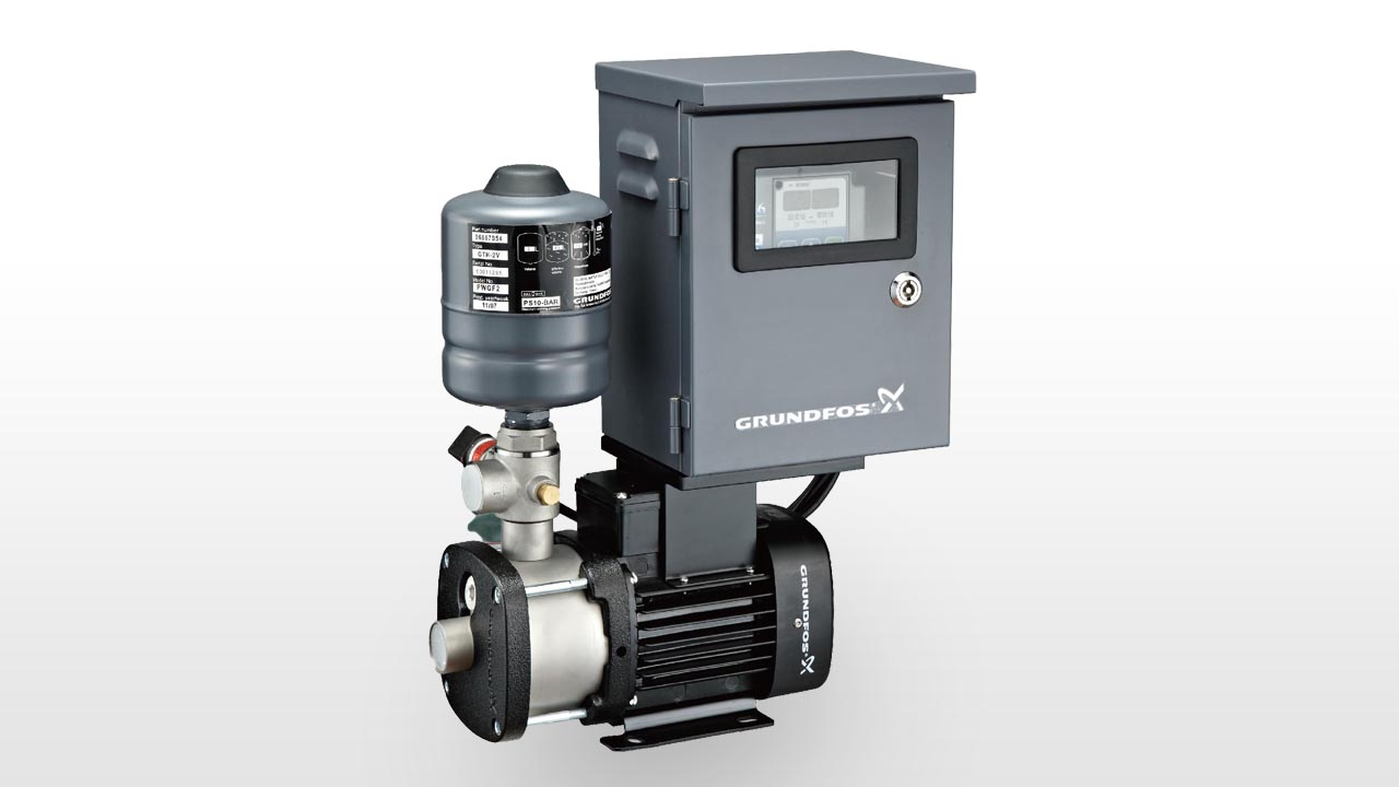 Grundfos CM variable speed booster